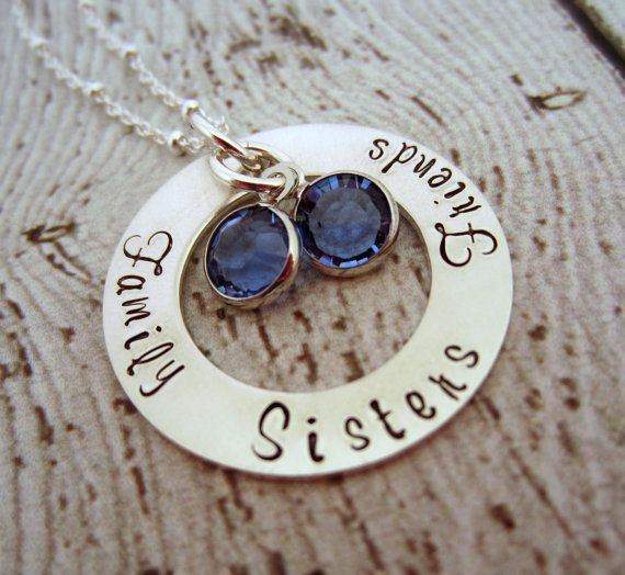 Sister Necklace Sister Jewelry Sisters Necklace by EllenBKeepsakes