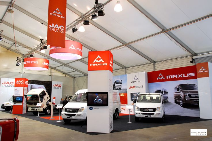 JAC/MAXUS @ ITTS White Motor Corporation has successfully introduced both the JAC and Maxus brands to the Australian market at this trade show event