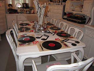 62 best ideas about musical party on pinterest 70s party for Music themed furniture