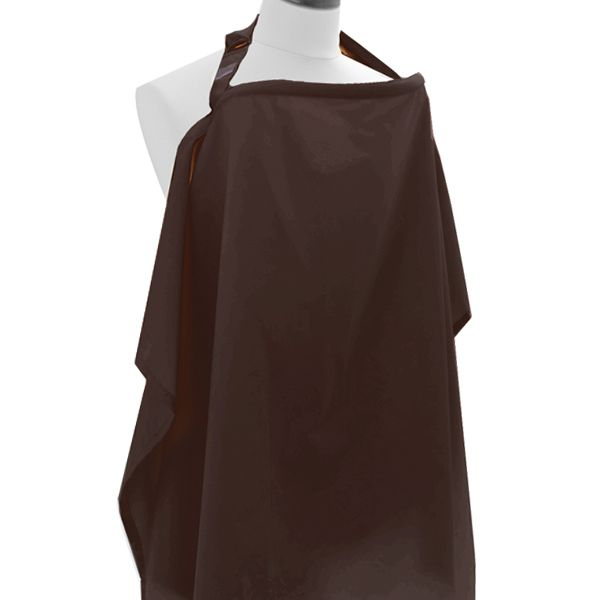Littlemico Nursing Cover Classic, Brown.