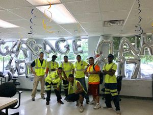 American Disposal Services celebrates its drivers and helpers