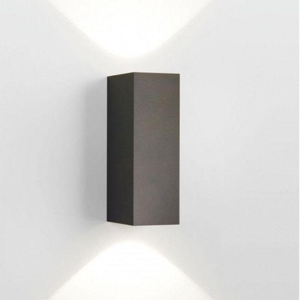 Delta Light MONO DOWN-UP LED 930 Wand Tuinverlichting  donkergrijs