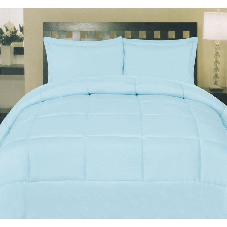 Box Stitch Polyester Down Alternative Comforter By Sweet