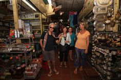 Shopping at the Old Market. #VietnamSchoolTours #Cambodia #PhnomPenh