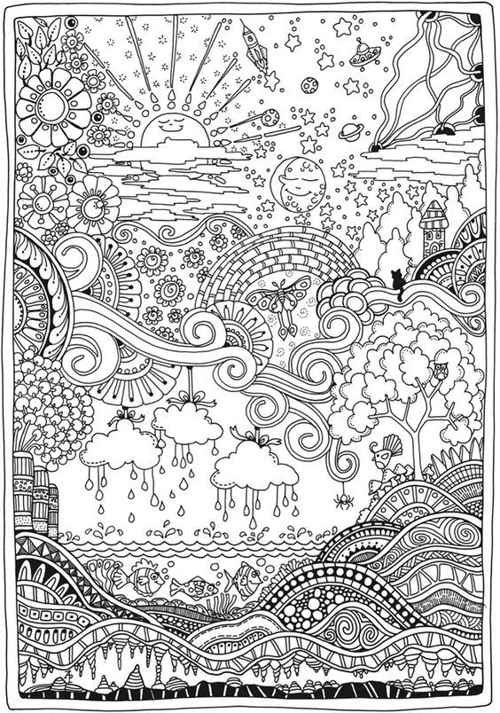 2818 best Adult Coloring Therapy-Free & Inexpensive ...