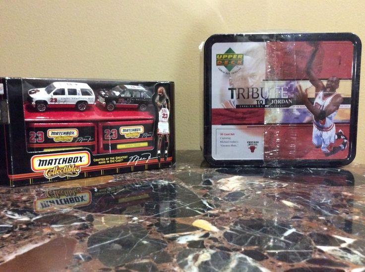 Michael Jordan Collectibles Matchbox 2 Jordan Bulls Tahoes And Tribute Lunch Box | Toys & Hobbies, Action Figures, Sports | eBay!