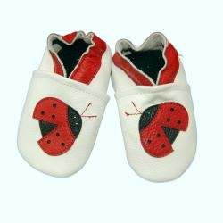 @Overstock.com - These adorable soft sole baby shoes are constructed of a top grade leather with non-slip leather soles. Slip-on styling make these little shoes convenient for you and comfortable for your baby.http://www.overstock.com/Baby/Ladybug-Soft-Sole-Leather-Baby-Shoes/6304756/product.html?CID=214117 $13.99