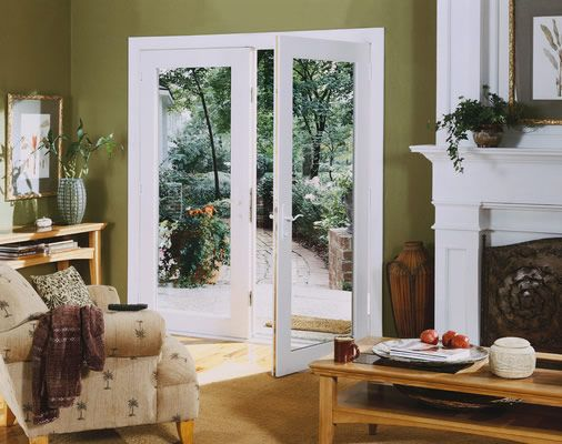 Hinged patio door french door image doors pinterest for Swinging french patio doors