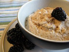 Paleo porridge great breakfast idea this winter for the kids, add a side of bacon.