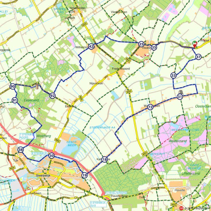 Fietsroute: Op de grens van Overijssel en Drenthe (http://www.route.nl/fietsroutes/120851/Op-de-grens-van-Overijssel-en-Drenthe/)