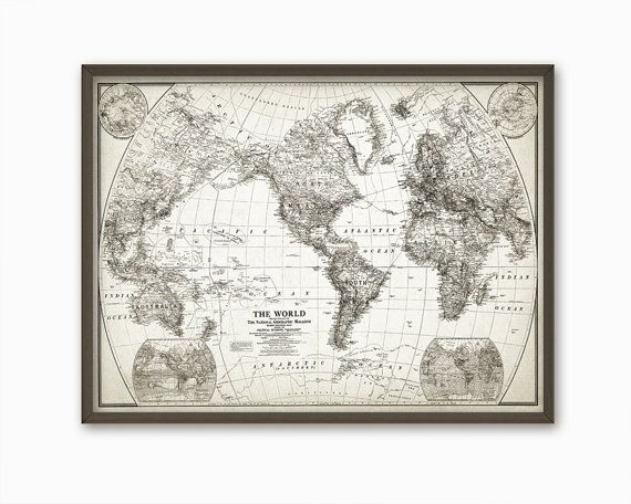Best 25 vintage world maps ideas on pinterest world maps world best 25 vintage world maps ideas on pinterest world maps world map wall and bedroom wallpaper world map sciox Image collections