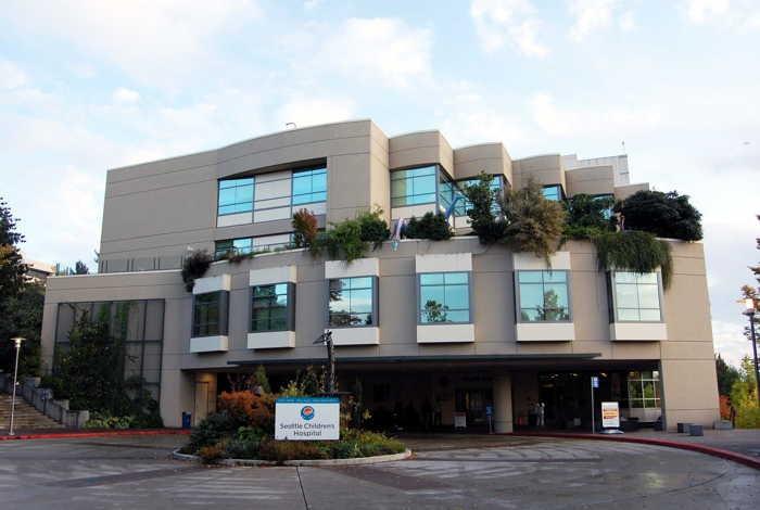 """ワシントン州シアトルにある""""Seattle Children's Hospital""""を視察しました(2009年10月18日撮影)."""