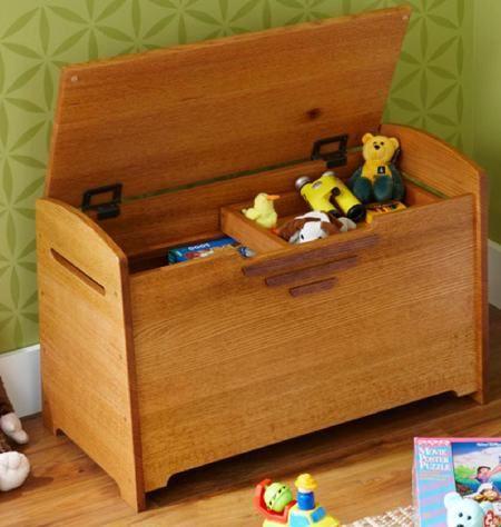 Toy Box oder Blanket Chest Holzbearbeitungsplan