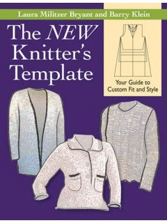 Knitters template for customizing knitted sweaters | InterweaveStore.com
