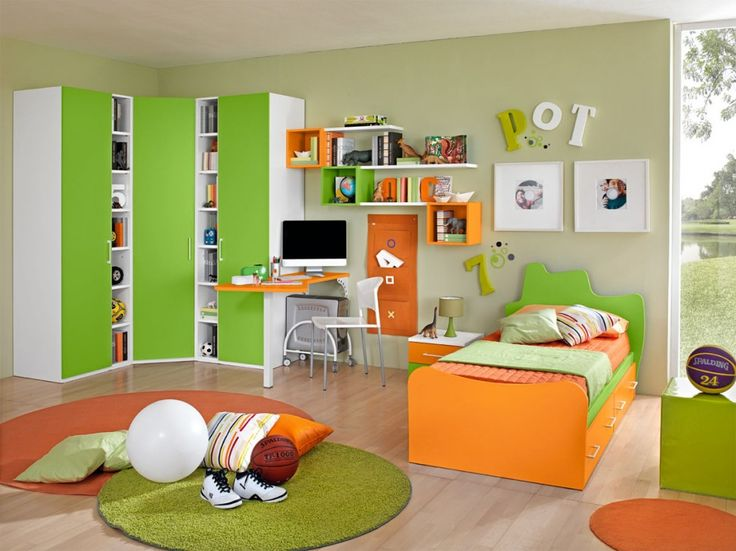 489 besten Colombini - Camerette Bilder auf Pinterest Target - babyzimmer orange grn