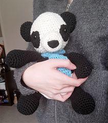 free pattern panda amigurumi softie suffed animal crochet