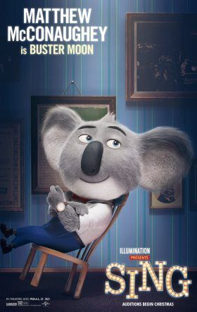 Sing Movie Voice Cast and Characters