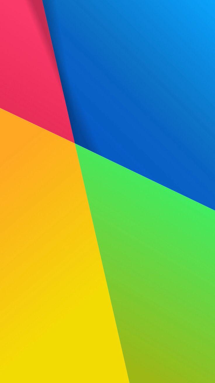 Mobile Version Of The Default Google Nexus 7 Wallpaper I Made In GIMP Resolution