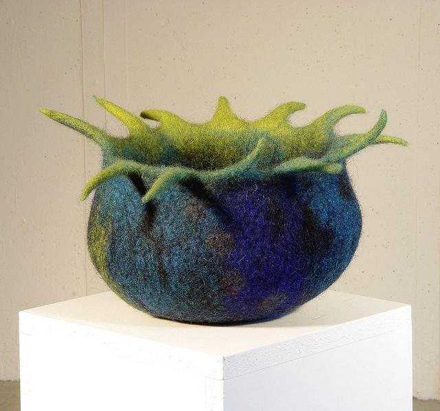 cesa wendt: Filz-Schale / felt bowl / bol en feutre by cesa wendt, via Flickr
