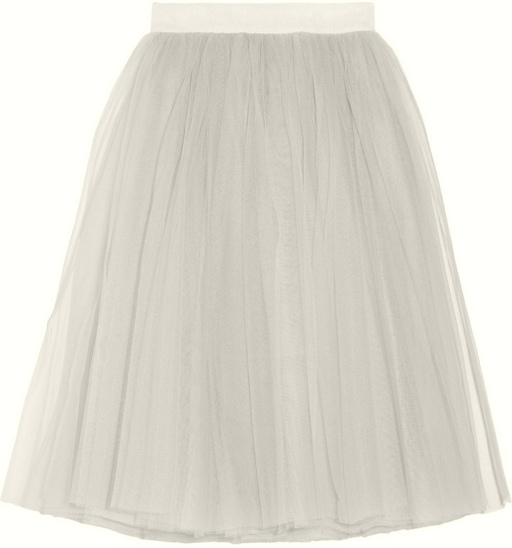 Tulle midi skirt $630: Midi Skirts, Skirts 630, Tulle Midi