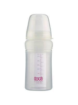 Wykonana z silikonu butelka wielofunkcyjna umożliwia wygodne karmienie. Po nałożeniu łyżeczki z miękką końcówką przekształca się w butelkę do podawania pierwszych kaszek, zupek itd.