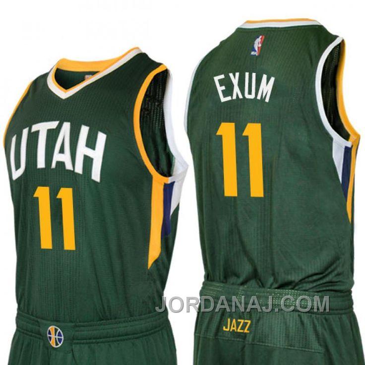 ... Find Dante Exum Utah Jazz 2016 New Swingman Alternate Green Jersey  Online online or in Footseek ... e6f6c7b0d