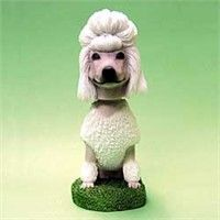 Poodle Bobble Head: Nothing beats the exceptional look and quality of our Poodle Bobble Head. Among… #PetProducts #PetGifts #AnimalJewelry