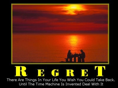#Regret #Quote #Saying