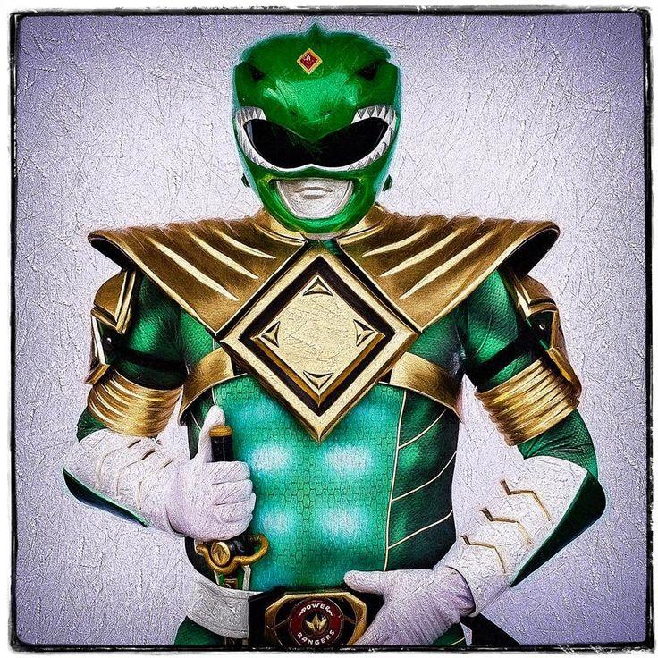 Green ranger jdf power ranger raising money for charity