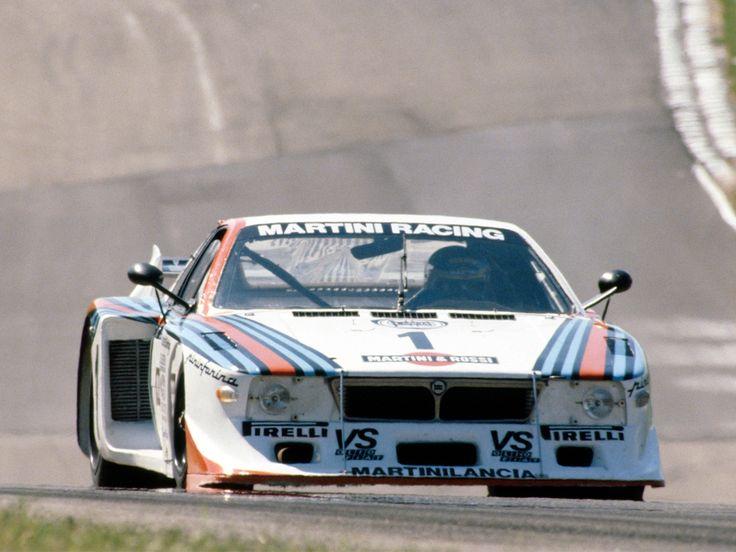 Lancia Monte Carlo race car