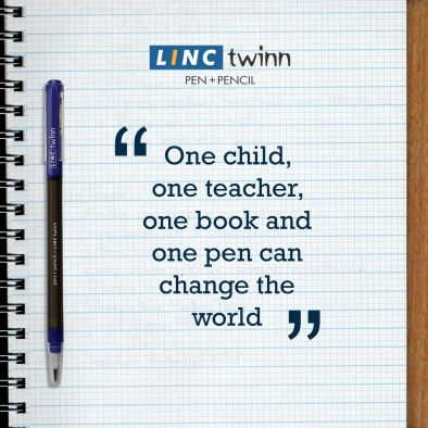 Guess the person who wrote this popular quote. #GuessThePerson #Quote #LincTwinn #LincPens