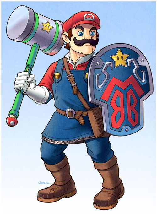 Mario: The Legend of Peach  Created byDarren Calvert