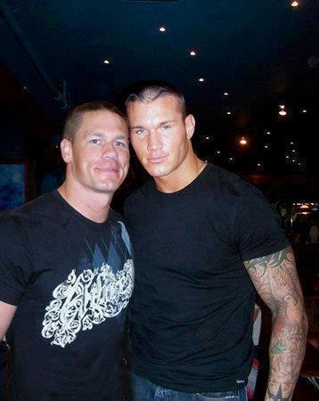 John Cena and Randy Orton :)