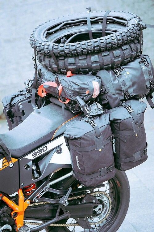 Adventure - how to make a perfect spot for your Cobb Grill when packing for a bike camping trip