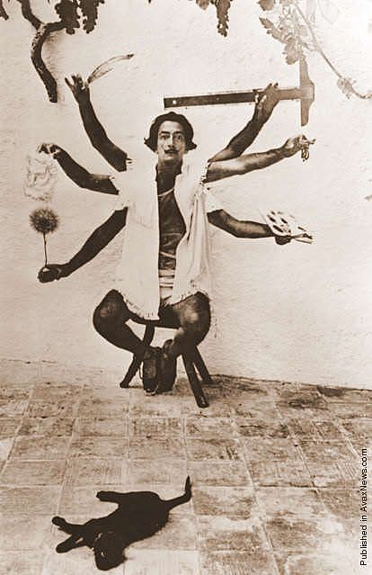 Dali (I did a paper on him in college and the guy was either insane or a genius... or maybe both... lol)