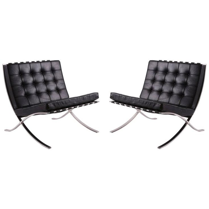 1000 ideas about barcelona chair on pinterest ludwig mies van der rohe eames and industrial. Black Bedroom Furniture Sets. Home Design Ideas
