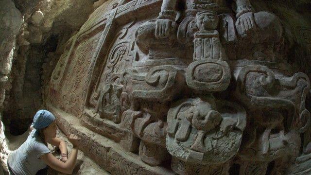Archäologie Überraschung unter der Maya-Pyramide