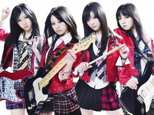 scandal - J Rock band