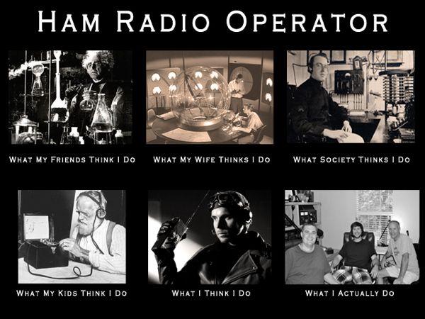 Ham Radio Operator - what everyone thinks - #hamr #Hamradio
