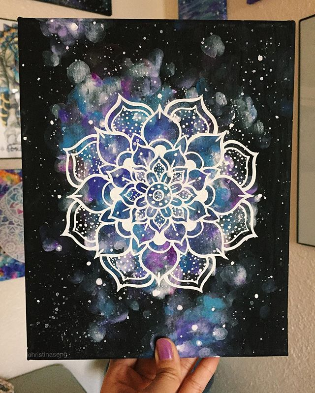 A little space mandala. ✨                                                                                                                                                                                 More