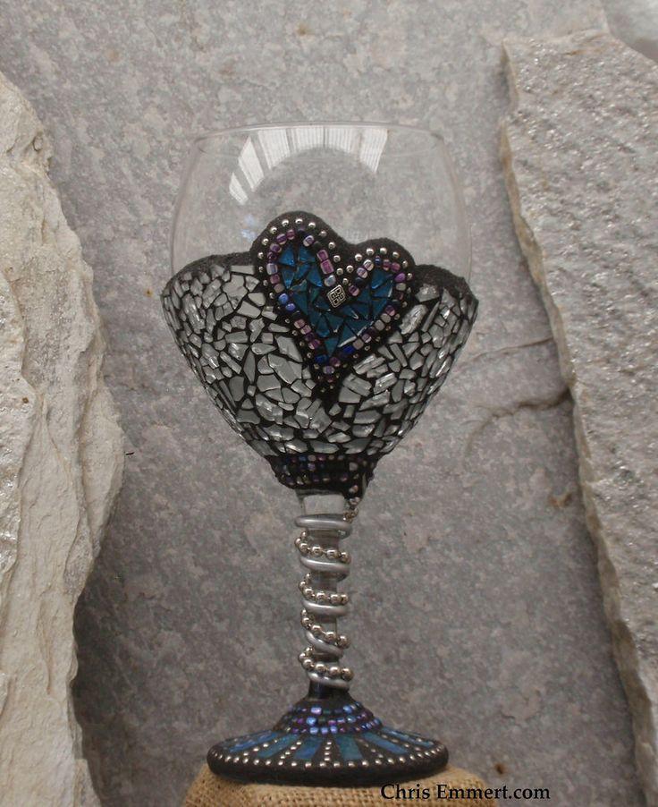 Mosaic Art Glass - Wine