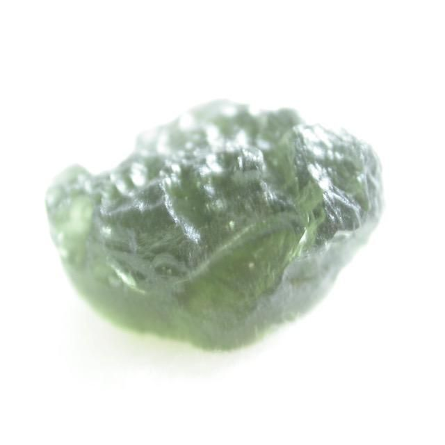 Moldavite is a mysterious stone thought to have other worldy origins, but nobody knows for sure. They were once thought to be a type of volcanic glass like obsi