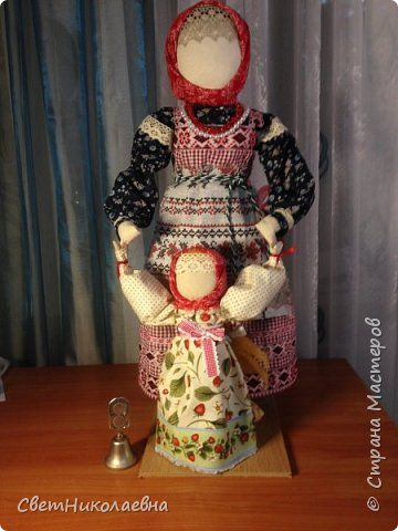 Русская тряпичная кукла. фото 1