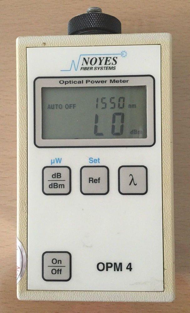 [NOYES OPM4] Optical Power Meter #NOYES