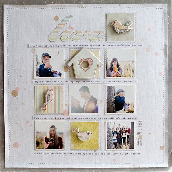 Weekly Challenge...Be Inspired by... - Two Peas in a BucketWinter Snow, Scrapbook Ideas, Scrapbook Inspiration, Scrapbook Photos, Challenges B Inspiration, Wilna Scrapbook, Scrapbook Layout, Scrapbook Pages, Challengeb Inspiration
