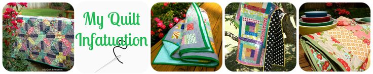 My Quilt Infatuation--inspirations for quilt ideas.  Big variety of modern and traditional quilt ideas.