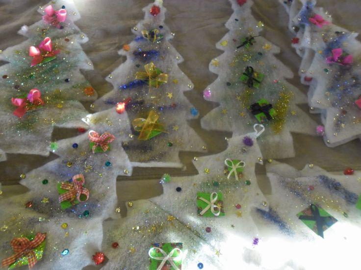 ταξίδι στη γνώση: χριστουγεννιάτικες κατασκευές