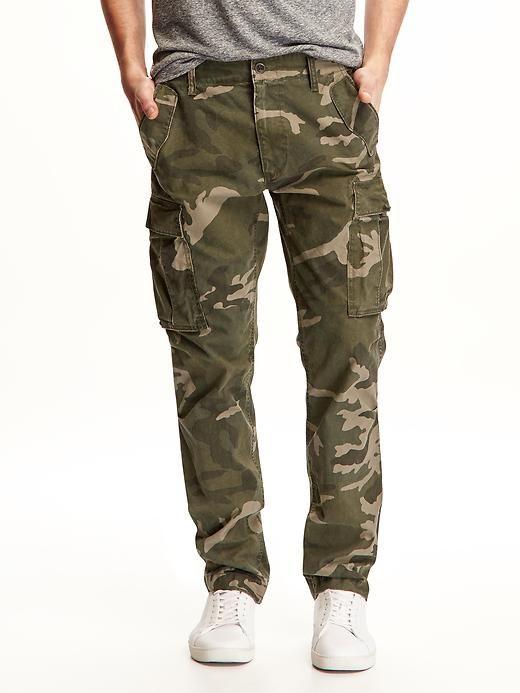 Heavy Twill Cargo Pants for Men