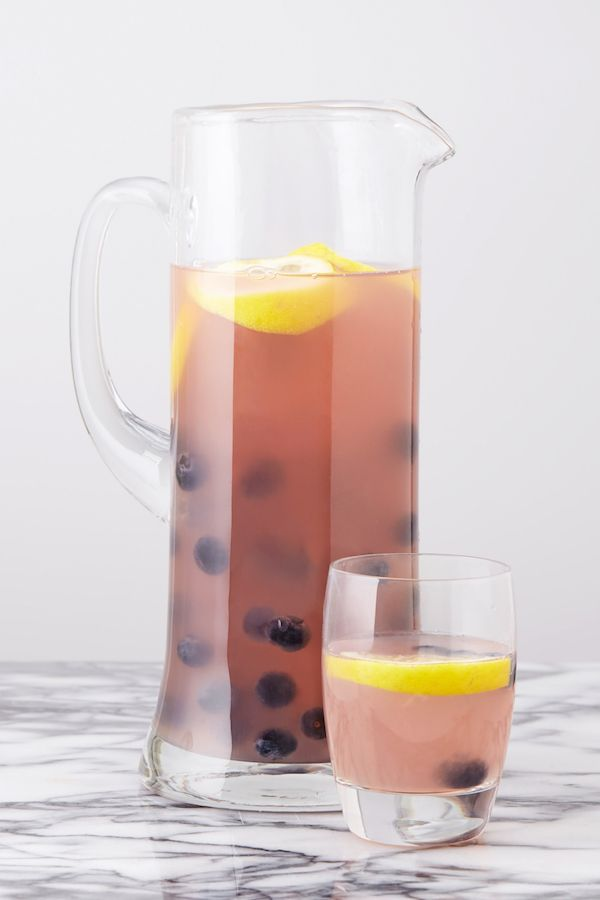 Best Blueberry Lemonade Sangria Recipe - How to Make Blueberry Sangria