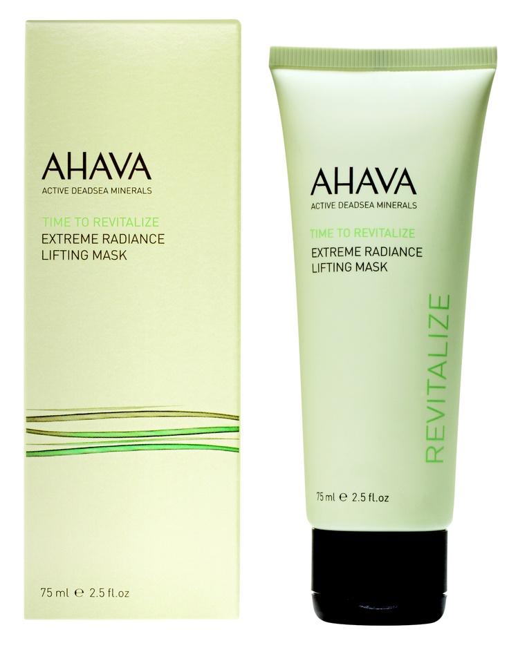 Ahava Extreme maska rozświetlająco-liftingująca